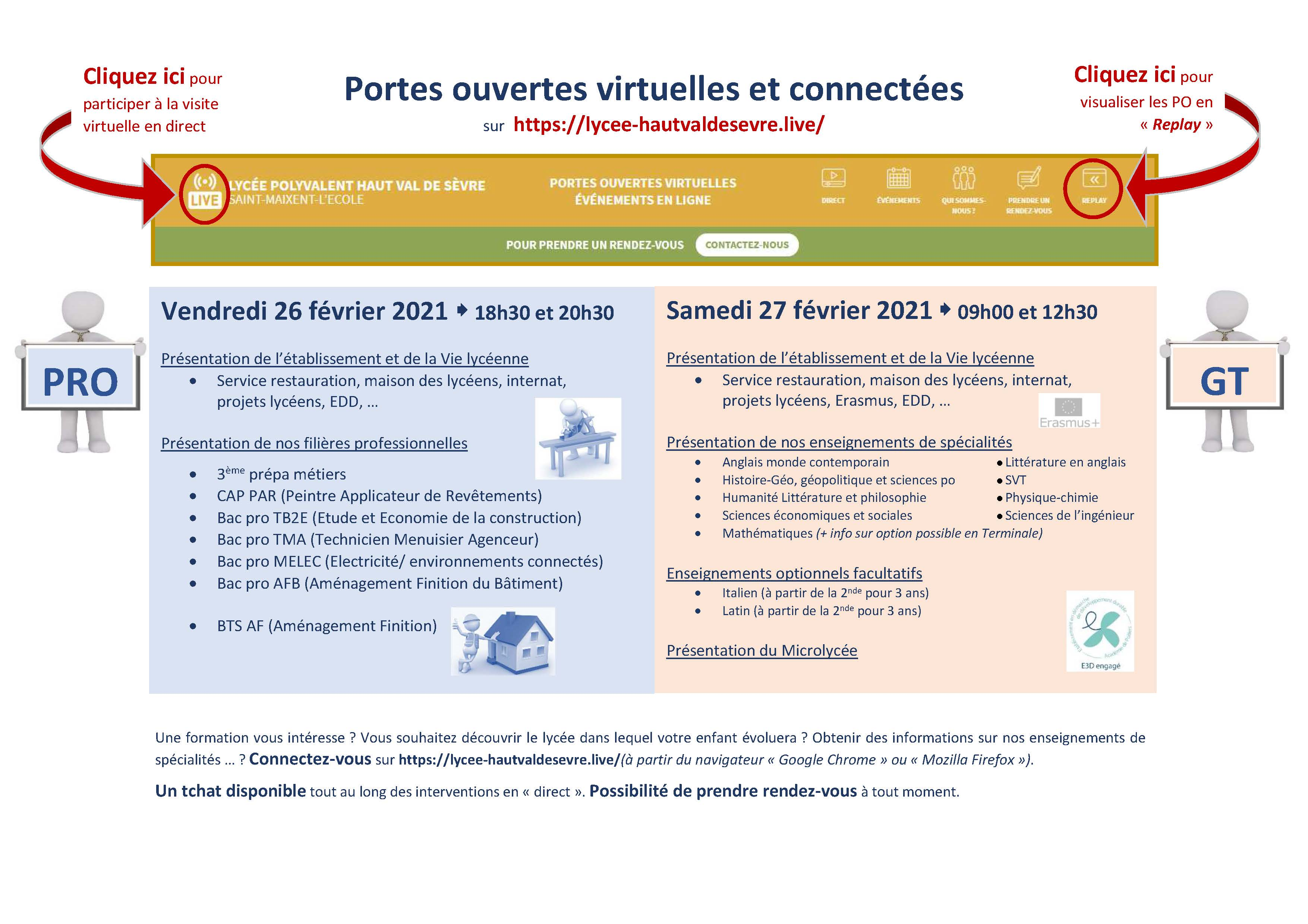 PO virtuelles 2021